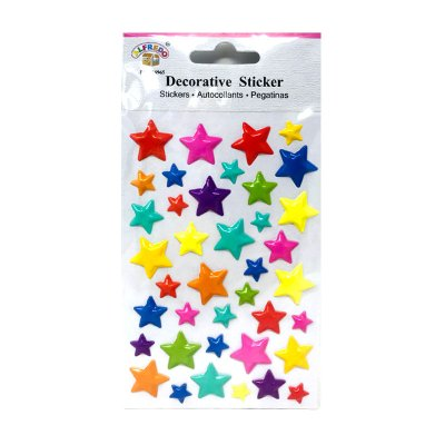 Pegatinas 3D Estrellas