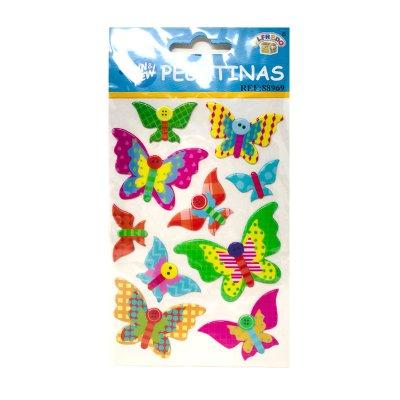 Pegatinas 3D Mariposas de colores