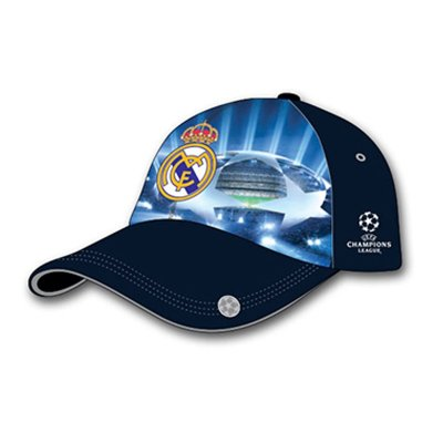 Gorra adulto Real Madrid Champions League azul - Kilumio cef8ab5443a