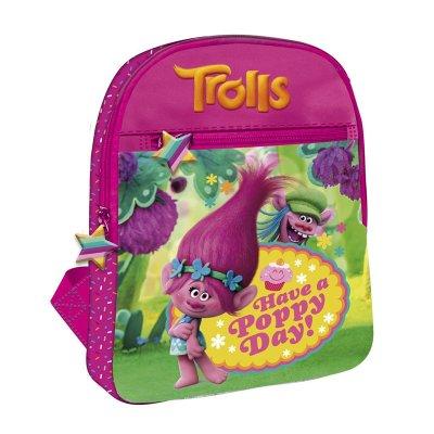 Mochila mediana 29cm Trolls Cupcakes Have a Poppy Day