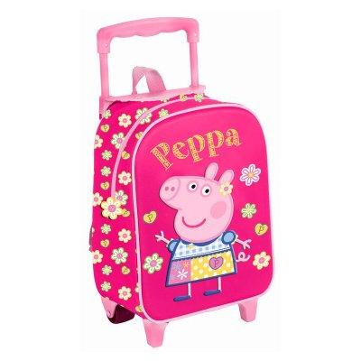 Mochila Trolley 3D 30cm Peppa Pig