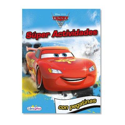 Libro Super Actividades Cars Disney 21x28cm