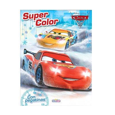Wholesaler of Libro Súpercolor Cars 2 Disney 28x21cm