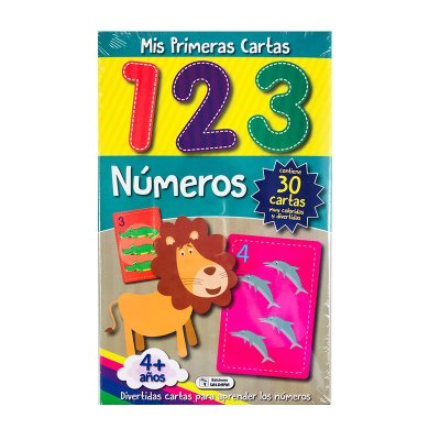 Wholesaler of Mis primeras cartas Números