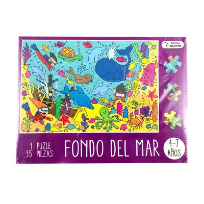 Puzzle caja divertida 35pcs Mar