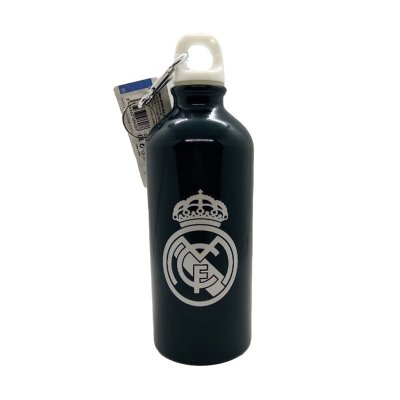 Botella aluminio con clip 500ml Real Madrid F.C