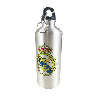Botella aluminio con clip Real Madrid Himno
