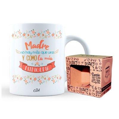 Taza cerámica frases - Madre no hay mas que una