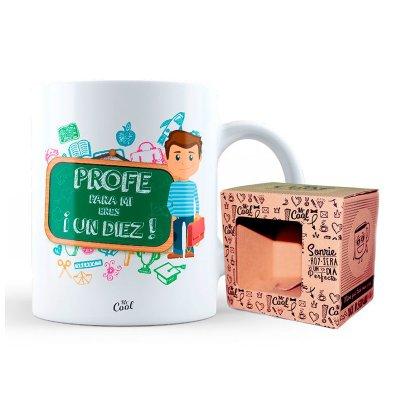 Wholesaler of Taza cerámica frases - Profe para mi eres un diez - niño