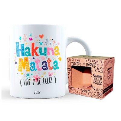 Wholesaler of Taza cerámica frases - Hakuna Matata vive y se feliz