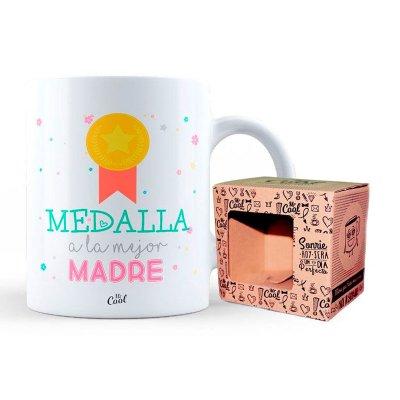 Taza cerámica frases - Medalla a la mejor madre