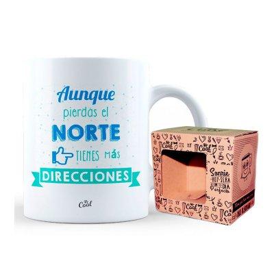 Wholesaler of Taza cerámica frases - Aunque pierdas el norte