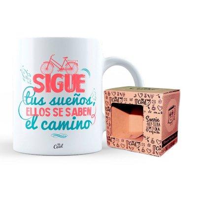 Wholesaler of Taza cerámica frases - Sigue tus sueños, ellos se saben el camino