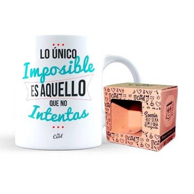 Wholesaler of Taza cerámica frases - Lo único imposible
