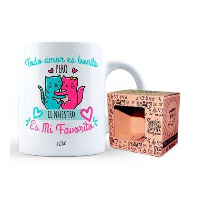 Wholesaler of Taza cerámica frases - Todo amor es bonito