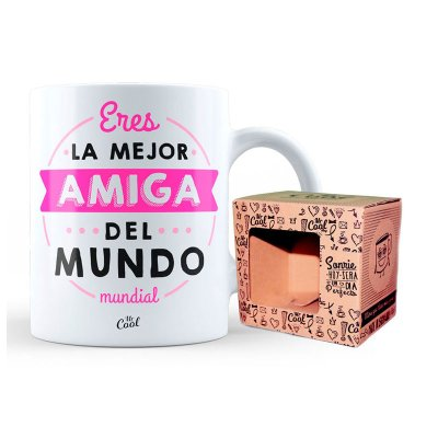 Wholesaler of Taza cerámica frases - Eres la mejor amiga del mundo