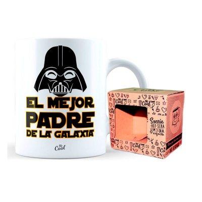 Taza cerámica frases - El mejor padre de la galaxia