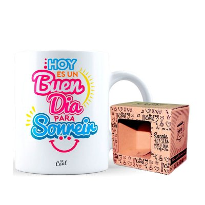Wholesaler of Taza cerámica frases - Hoy es un buen día
