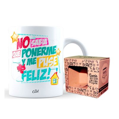 Wholesaler of Taza cerámica frases - No sabia que ponerme
