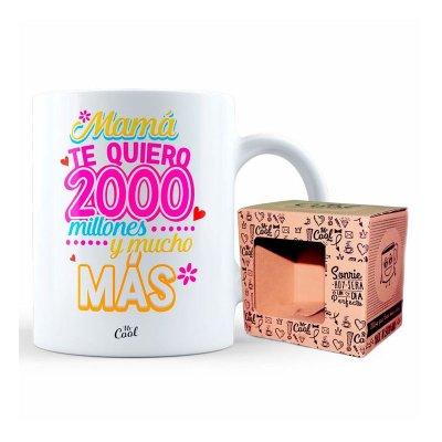 Wholesaler of Taza cerámica frases - Mama te quiero 2000 millones
