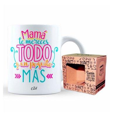 Wholesaler of Taza cerámica frases - Mama te mereces todo