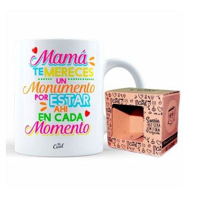 Wholesaler of Taza cerámica frases - Mamá te mereces un monumento