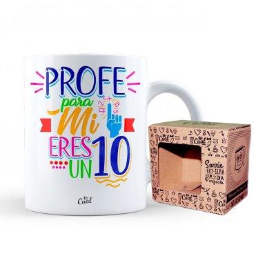Wholesaler of Taza cerámica frases - Profe para mi eres un 10 - modelo 1