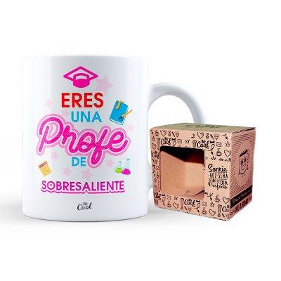 Wholesaler of Taza cerámica frases - Eres una profe sobresaliente