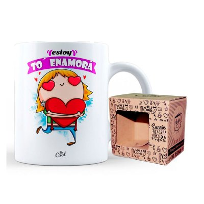 Wholesaler of Taza cerámica frases - Estoy to' enamorá