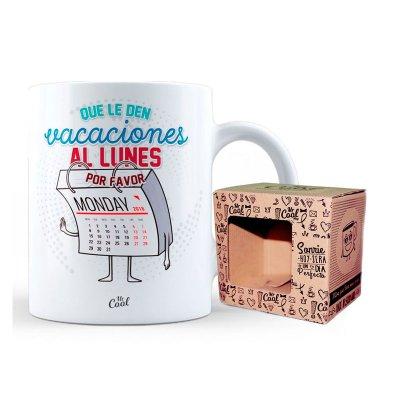 Wholesaler of Taza cerámica frases - Que le den vacaciones al Lunes