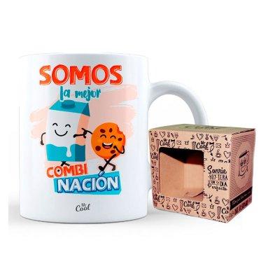 Wholesaler of Taza cerámica frases - Somos la mejor combinación