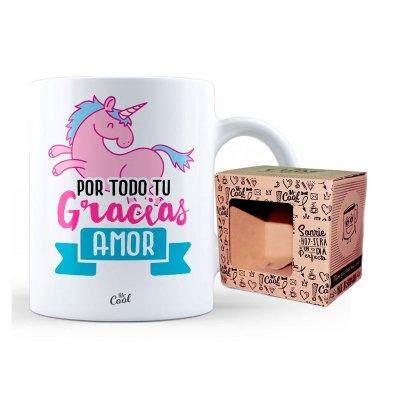 Wholesaler of Taza cerámica frases - Gracias por todo tu amor