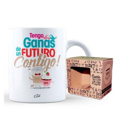 Wholesaler of Taza cerámica frases - Tengo ganas de un futuro contigo