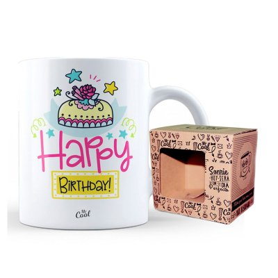 Wholesaler of Taza cerámica frases - Happy Birthday - modelo 2