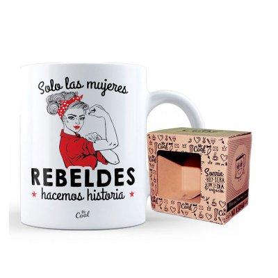 Wholesaler of Taza cerámica frases - Solo las mujeres rebeldes