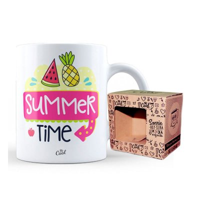 Wholesaler of Taza cerámica frases - Summer Time