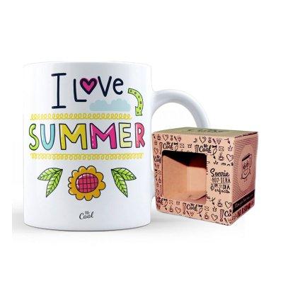 Wholesaler of Taza cerámica frases - I Love Summer