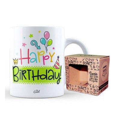 Wholesaler of Taza cerámica frases - Happy Birthday - modelo 1