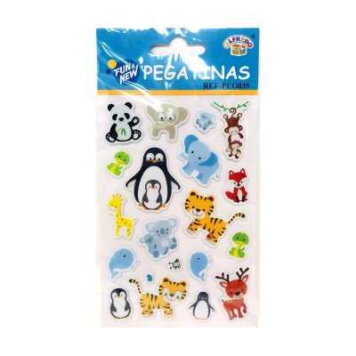 Pegatinas 3D Animales