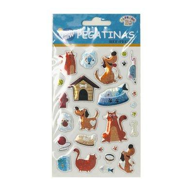 Wholesaler of Pegatinas 3D Cat & Dog