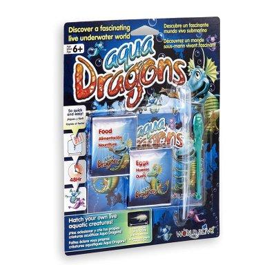 Set de 4 piezas mundo submarino Aqua Dragons