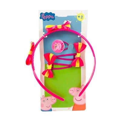 Set 4 accesorios pelo Peppa Pig