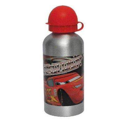 Botella aluminio 500ml Cars - modelo metal