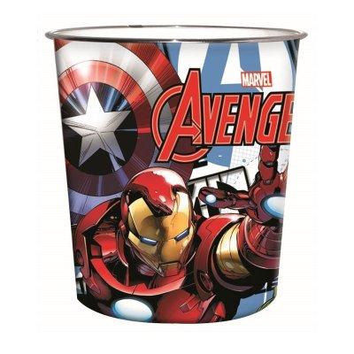 Papelera plástico Los Vengadores Marvel 22cm