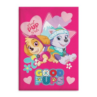 Manta polar coralina Paw Patrol Girls Best Pup Pals
