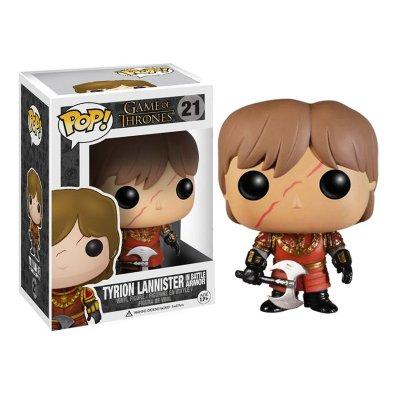 Figura Funko POP! Vynil 21 Juego de Tronos Tyrion Lannister c/armadura