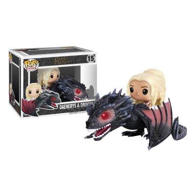 Distribuidor mayorista de Figura Funko POP! Rides Vynil 15 Juego de Tronos Daenerys & Drogon