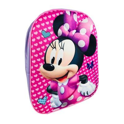 Mochila infantil 3D Minnie Mouse 33cm