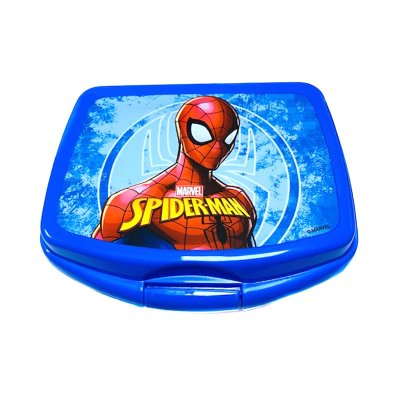 Sandwichera rectangular Spiderman Heroe
