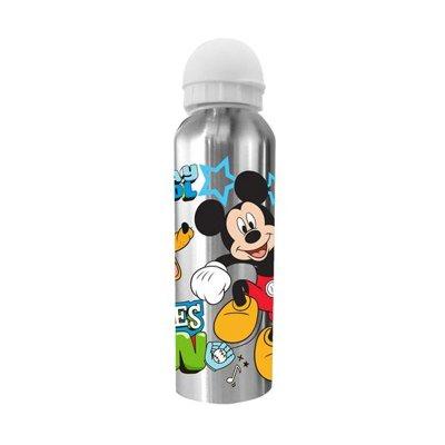 Botella aluminio 500ml Mickey Fun